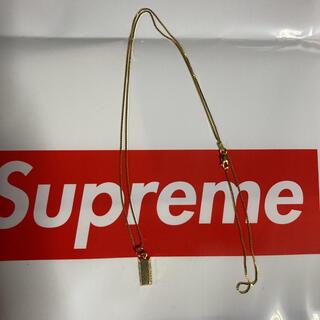 Supreme - supreme ネックレス 金塊 14k