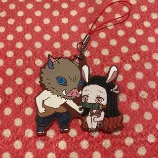 伊之助and禰󠄀豆子ラバスト⭐︎鬼滅の刃(キャラクターグッズ)
