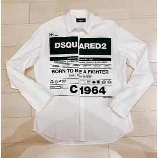 ディースクエアード(DSQUARED2)のディースクエアード 白シャツ(シャツ)