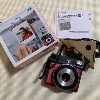 富士フイルム - 9月中値下げ 新品未使用 チェキ フィルムカメラ スクエア