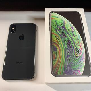 Apple - 美品 iPhone XS iPhoneXS シムフリー スペースグレイ 64GB
