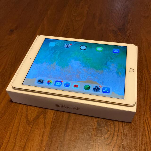 iPad(アイパッド)のiPad  Air2 ゴールド ドコモ 16GB【Bランク程度】 スマホ/家電/カメラのPC/タブレット(タブレット)の商品写真