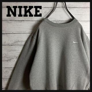 NIKE - 【オススメ‼︎】NIKE♧スウォッシュロゴ刺繍 ワンポイント スウェット 288