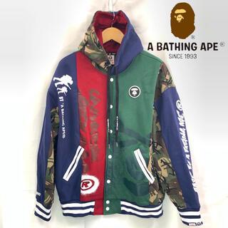 アベイシングエイプ(A BATHING APE)のAAPE BY A BATHING APE フーデット ジャケット XL(パーカー)