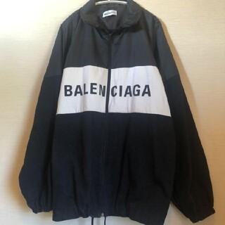 Balenciaga - BALENCIAGA ナイロン ロゴ デニムジャケット