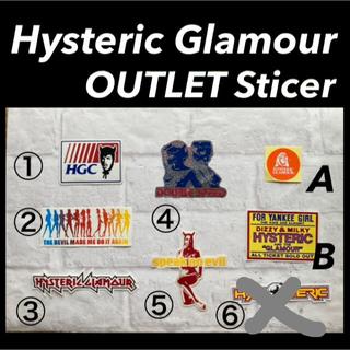 ヒステリックグラマー(HYSTERIC GLAMOUR)のHysteric Glamour アウトレットステッカー処分品(その他)