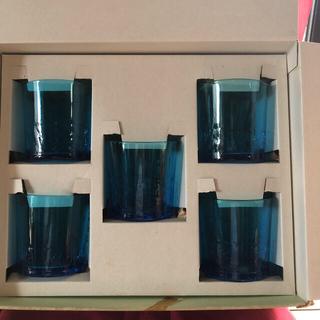 琉球ガラスコップ5個セット