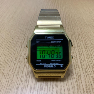Supreme - Supreme × Timex 腕時計 ゴールド