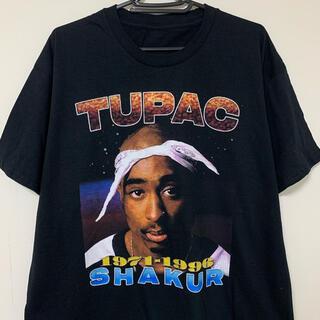 2pac Tシャツ 黒