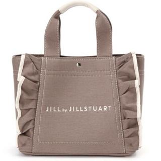 JILL by JILLSTUART - タグ有〼 モカ ジルバイジルスチュアート フリルトート