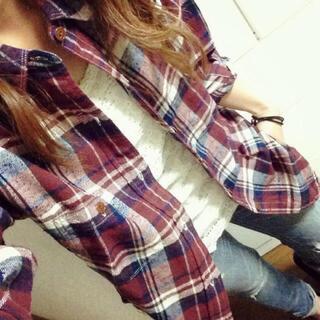 アングリッド(Ungrid)のungrid ルーズチェックシャツ(シャツ/ブラウス(長袖/七分))