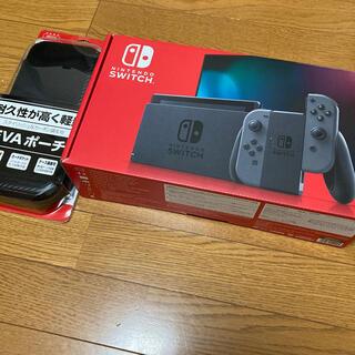 Nintendo Switch - Nintendo Switch 本体 Joy-Con (L)/(R)グレー