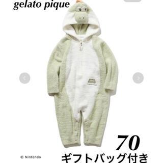 gelato pique - gelato pique ジェラートピケ マリオ ベビー ヨッシー ロンパース