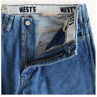 WESTOVERALLS デニム 5ポケット 17SWPT56B デニムパンツ