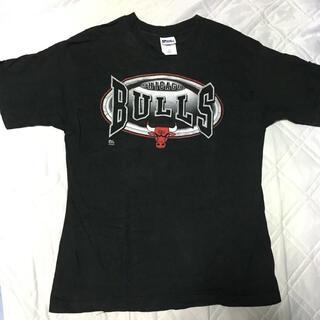 ミッチェルアンドネス(MITCHELL & NESS)のPRO PLAYER CHICAGO BULLS Tシャツ Black L(Tシャツ/カットソー(半袖/袖なし))