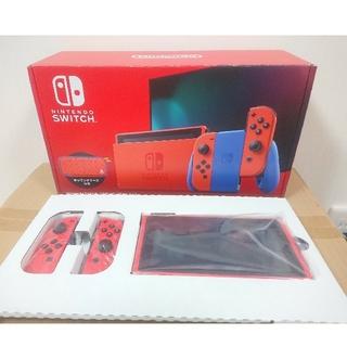 Nintendo Switch - マリオレッド×ブルー ニンテンドースイッチ 本体