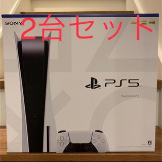 プレイステーション(PlayStation)のPlayStation5 PS5 プレステ5 SONY 2台セット(家庭用ゲーム機本体)