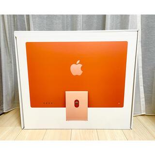 Mac (Apple) - 【新品未開封】Apple iMac 24インチ 2021 256GB オレンジ