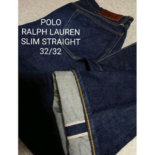 Ralph Lauren - 希少 POLO RALPH LAUREN SLIM STRAIGHT DENIM