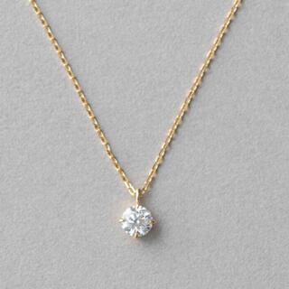 K18 ダイヤモンド 0.2ct ネックレス