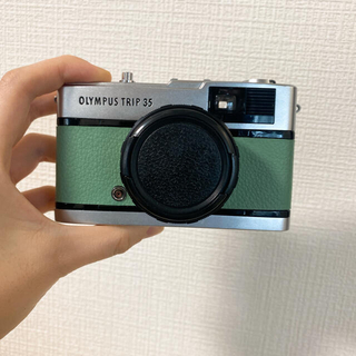 OLYMPUS - OLYMPUS TRIP 35 フィルムカメラ フィルム付き