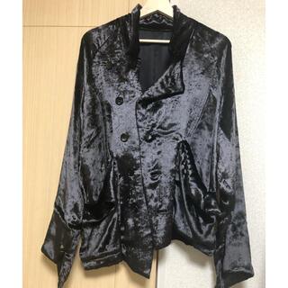 Yohji Yamamoto - 定価15万 Sulvam★20aw ベルベット 変形ジャケット