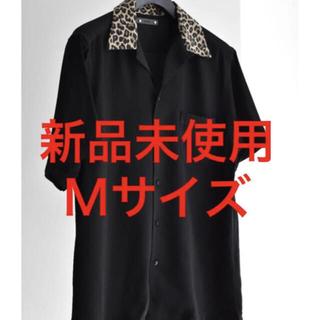 【新品未使用】MINEDENIM オープンカラーシャツ サイズ2 M レオパード