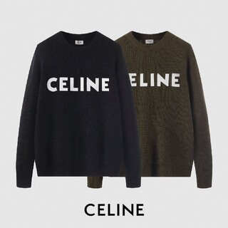 celine - 新品!CELINE男女兼用かわいいセーター()65