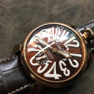 GaGa MILANO - ガガミラノ マニュアーレ48 メンズ腕時計 手巻き 稼動品