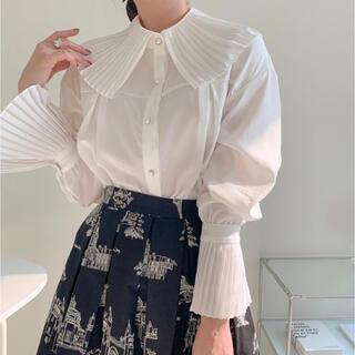 dholic - フリルブラウス 韓国ファッション