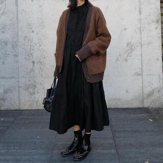 MACHATTタキシードシャツドレス タキシードワンピース ブラック黒マチャット
