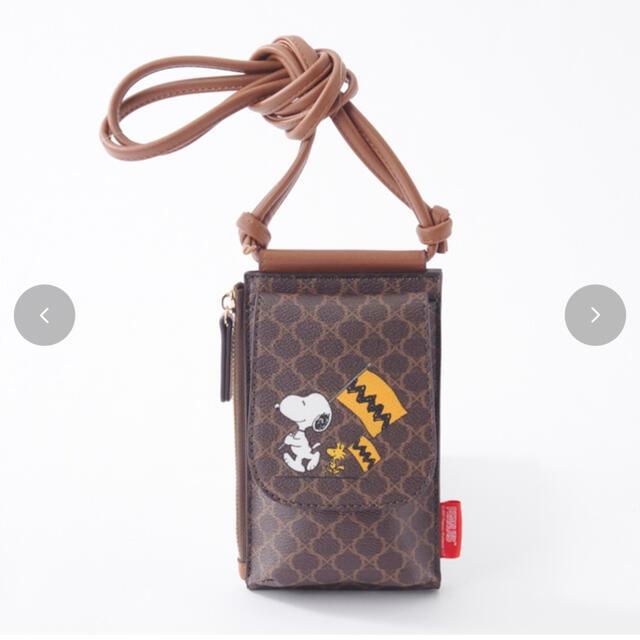しまむら(シマムラ)のしまむら×スヌーピー ミニショルダーバッグ レディースのバッグ(ショルダーバッグ)の商品写真