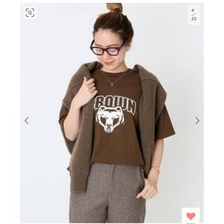DEUXIEME CLASSE - ♦︎新品♦︎ クチュールドアダムBROWN UNIVERCITY Tシャツ