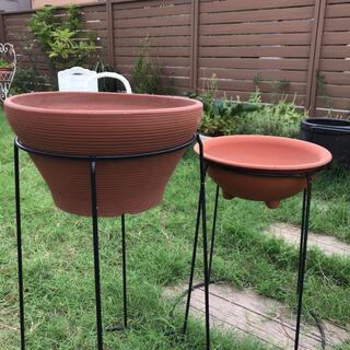 917-2 【まとめて2個】植木鉢 テラコッタ鉢 ガーデニング寄せ植え