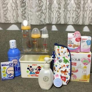 搾乳機、乳頭保護器、哺乳瓶、マタニティ&乳頭クリームなどまとめ売り(哺乳ビン用乳首)