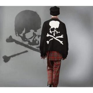 Mastermind Japan Skull ripped セーター(ニット/セーター)