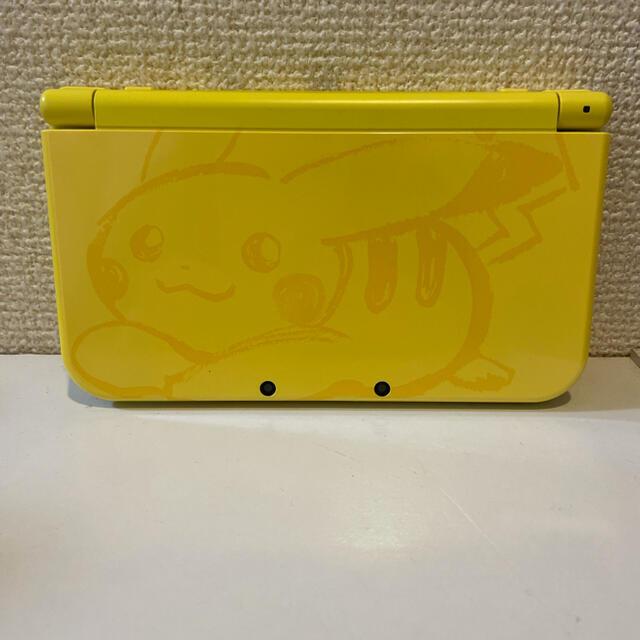 ニンテンドー3DS(ニンテンドー3DS)の3DSLL ピカチュウ エンタメ/ホビーのゲームソフト/ゲーム機本体(携帯用ゲーム機本体)の商品写真