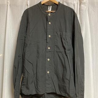 マーガレットハウエル(MARGARET HOWELL)のMHL ノーカラーシャツ(シャツ)