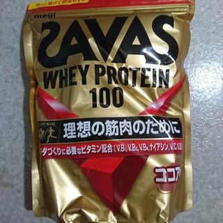 ザバス(SAVAS)の【新品】ザバス ホエイプロテイン 100 ココア味 1,050g(プロテイン)
