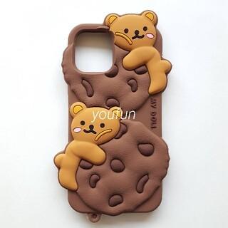 最後の1点☆ iPhoneケース チョコチップクッキー くま 12/12pro