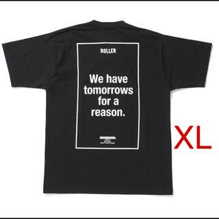 NEIGHBORHOOD - NEIGHBORHOOD × ROLLER / T-Shirt  黒  XL