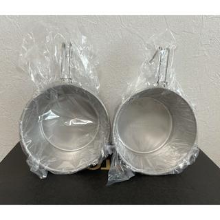 マウンテンリサーチ(MOUNTAIN RESEARCH)のマウンテンリサーチ アナルコカップ 001 2セット ステンレス シェラカップ(食器)