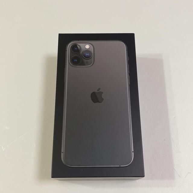 iPhone(アイフォーン)のiPhone11 pro 64GB スペースグレイ スマホ/家電/カメラのスマートフォン/携帯電話(スマートフォン本体)の商品写真