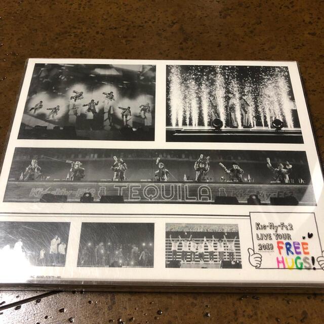Kis-My-Ft2(キスマイフットツー)のLIVE TOUR 2019 FREE HUGS! Blu-ray エンタメ/ホビーのDVD/ブルーレイ(ミュージック)の商品写真