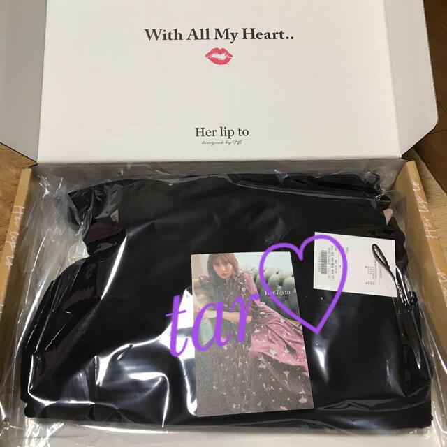 snidel(スナイデル)のher lip to♡Multiway Mermaid Knit Dress レディースのワンピース(ロングワンピース/マキシワンピース)の商品写真