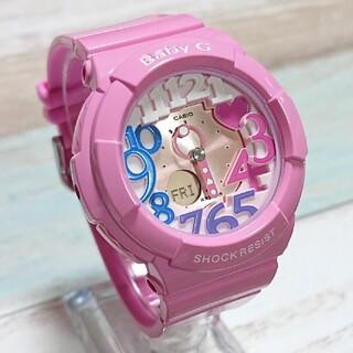 超美品【CASIO/BABY-G】デジアナ レディース腕時計 BGA-131