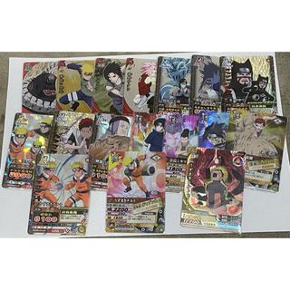 BANDAI - NARUTO疾風伝 ナルティメットクロス、ミッション、カードバトル 16枚+1枚