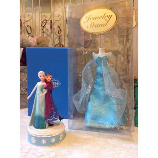 Disney - ディズニー アナと雪の女王 アクセサリースタンド ジュエリーボックス 2点セット