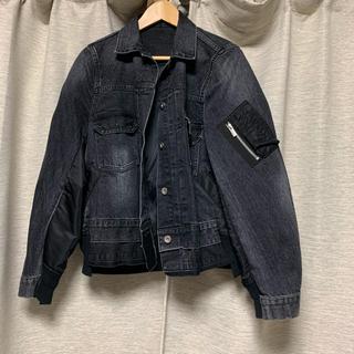 サカイ(sacai)のsacai Denim x MA-1 Jacket(Gジャン/デニムジャケット)