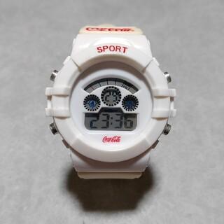 コカコーラ(コカ・コーラ)のコカコーラデジタルウオッチ デジタル 腕時計(腕時計(デジタル))